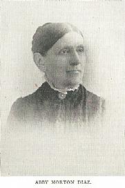 Author photo. Abby Morton Diaz (1821-1904) Buffalo Electrotype and Engraving Co., Buffalo, N.Y.