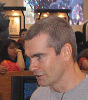 Author photo. San Diego Comic Con 2006<br>Copyright © 2006 <a href=&quot;http://ronhogan.tumblr.com&quot;>Ron Hogan</a>