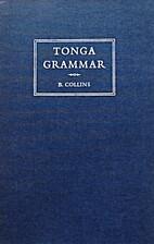 Tonga grammar by B. Collins