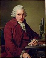 Author photo. Louis-Jean-Marie Daubenton, by Alexander Roslin, 1791. Wikimedia Commons.