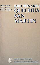 Diccionario quechua : San Martín by…