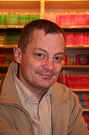 Author photo. Frédéric Boilet, 2007. Photo by Georges Seguin