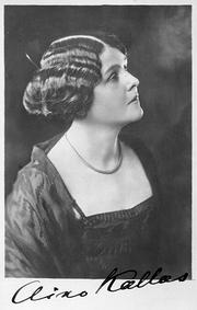 Author photo. Aino Kallas, 1922