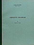 Nengone Grammar (Pacific Linguistics -…