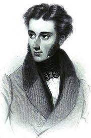 Author photo. Image from <b><i>The Poems of Winthrop Mackworth Praed</i></b> (1864)