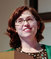 Author photo. Erin McKean. Photo by Pete Zivkov.
