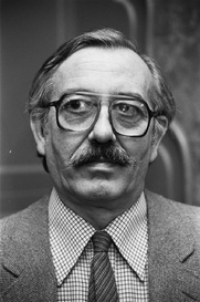 Author photo. Henk Barnard in 1979 [credit: Dijk, Hans van / Anefo; source: Nationaal Archief Fotocollectie Anefo; copied from Wikipedia]