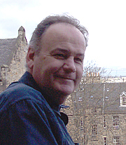 """Author photo. Stuart McHardy, author of """"MacPherson's Rant"""" and """"The Silver Chanter"""""""