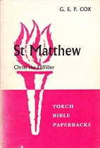 The Gospel according to St. Matthew by G. E.…