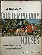 A Treasury of Contemporary Houses by Emerson…