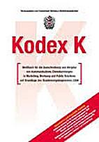 Kodex K. Weißbuch für die…