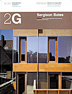 Sergison Bates : 2G special issue by Tony…