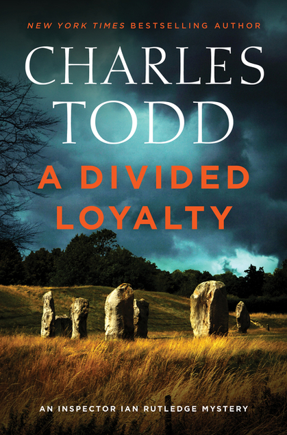 book cover of A Divided Loyalty by Charles Todd