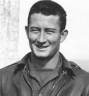 Author photo. Michael C. McCarthy at Amendola Air Base, Italy, October 1943 [source: page 37 of Air-to-Ground Battle for Italy, 2004]