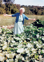 Author photo. Ruth Stout/Mother Earth News