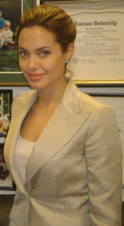 Author photo. Cropped from a photo of Jolie with U.S. Senator Dick Lugar.