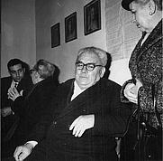 Author photo. Amadeo Bordiga, primo segretario del PCI dal 1921 al 1923 (Archivio Rcs)