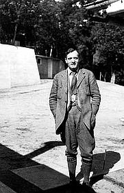 Author photo. Edwin Hubble [credit: Photograph by Margaret Harwood, courtesy AIP Emilio Segre Visual Archives]