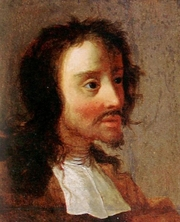 Author photo. Painting by Marcus Bloß (1641)