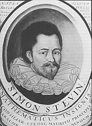 Author photo. Simon Stevin<br> (Brugge 1548 - Den Haag/Leiden 1620)<br> Schilderij, herkomst onbekend,<br> bezit Universiteitsbibliotheek Leiden.