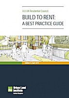 Build to rent : a best practice guide…