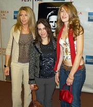 Author photo. Jaynie, Caley & Cydney Chase ~ Photo by David Shankbone, 2007 (Wikimedia Commons)