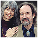 Author photo. Hank Wesselman with Jill Kuykendall ~ Photo courtesy of Hay House, Inc.