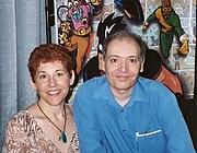 Author photo. Left, Randy Lofficier; Right, Jean-Marc Lofficier
