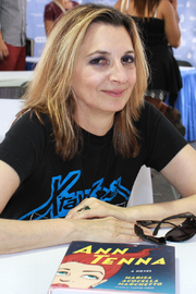 Author photo. Author Marisa Acocella Marchetto at the 2015 Texas Book Festival. By Larry D. Moore, CC BY-SA 4.0, <a href=&quot;https://commons.wikimedia.org/w/index.php?curid=44391030&quot; rel=&quot;nofollow&quot; target=&quot;_top&quot;>https://commons.wikimedia.org/w/index.php?curid=44391030</a>