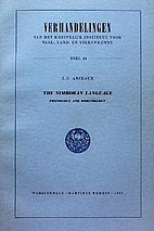 The Nimboran language;: Phonology and…