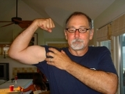 Author photo. John Sundman, Long Beach Island, New Jersey, 2009. Photo by Jennifer Young Sundman, used by permission.