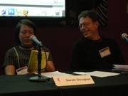 Author photo. Singer-songwriter Sarah Dougher and music writer Charles R. Cross on the &quot;Sexual Healing?&quot; panel at the 2009 Pop Conference, Experience Music Project, Seattle, Washington. By Joe Mabel, CC BY-SA 3.0, <a href=&quot;https://commons.wikimedia.org/w/index.php?curid=6641712&quot; rel=&quot;nofollow&quot; target=&quot;_top&quot;>https://commons.wikimedia.org/w/index.php?curid=6641712</a>