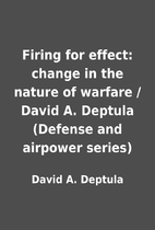 Firing for effect: change in the nature of…