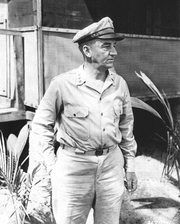 Author photo. Robert L. Eichelberger in 1944 [credit: US Army Signal Corps]