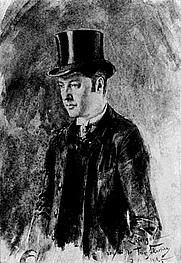 Author photo. Portrait of Laforgue by Franz Skarbina (1885)