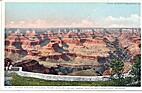 Grand Canyon, Arizona, from Hotel El Tovar