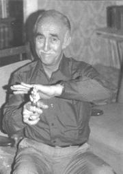 Author photo. Leonard F Meares, alias Marshall Grover