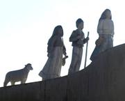 Author photo. Statue of the Children of Fatima, Lisbon, Portugal. Photo by Antonio Fucito / Flickr.