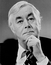 Author photo. Daniel Patrick Moynihan (1927-2003)
