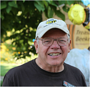 Author photo. Dewey M. Caron [credit: Treasure Valley Beekeepers Club]