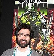 Author photo. Credit: Pinguino k (Flickr user), <br>New York Comic Con, 2007