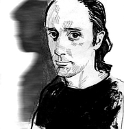 Author photo. Illustration by Jamie Chase