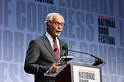 """Author photo. Library of Congress Prize for American Fiction winner Richard Ford speaks on the National Book Festival Main Stage, August 31, 2019. Photo by Shawn Miller/Library of Congress. By Library of Congress Life - 20190831SM0227.jpg, CC0, <a href=""""https://commons.wikimedia.org/w/index.php?curid=82899183"""" rel=""""nofollow"""" target=""""_top"""">https://commons.wikimedia.org/w/index.php?curid=82899183</a>"""