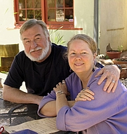 Author photo. Sally and Andy Wasowski/photo by Andy Farmer