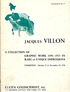 Jaques Villon A Collection of Graphic Work…