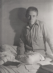 Author photo. Taylor at Kenyon College. This 1941 photo (by Robie Macauley: &quot;That doleful Kenyon snapshot&quot;) is the subject of Robert Lowell's poem, &quot;For Peter Taylor&quot;. By Robie Macauley - I (Cmacauley (talk) 16:21, 26 February 2010 (UTC) created this work entirely by myself., GFDL, <a href=&quot;//en.wikipedia.org/w/index.php?curid=26349092&quot; rel=&quot;nofollow&quot; target=&quot;_top&quot;>https://en.wikipedia.org/w/index.php?curid=26349092</a>