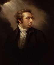 Author photo. Portrait by James Northcote (1778)