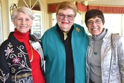 Author photo. Sharon Gordon (right) with fellow authors Mary Swift & Lynn Leclercq