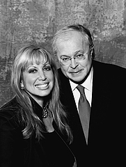 Author photo. Michael Baden and Linda Kenney