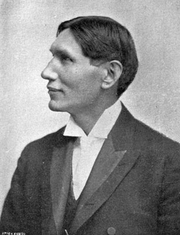 """Author photo. From """"AMONG THE SIOUX A Story of The Twin Cities and The Two Dakotas,"""" Creswell, 1906 <BR>(Project Gutenberg)"""